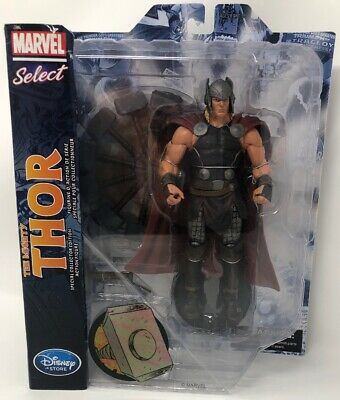 """Disney Store Marvel Select The Mighty Special Collector Edition 8"""" Thor Figure"""