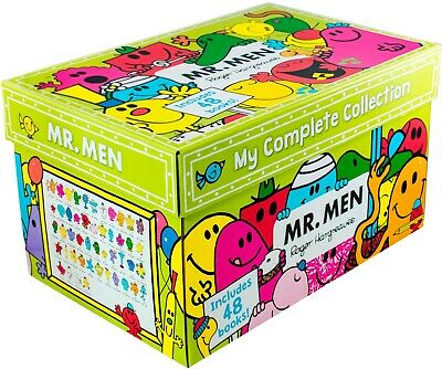 Mr Men My Complete Collection 48 Books Box Gift Set By Roger Hargreaves NEW