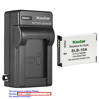 Kastar Battery Wall Charger for Zoom BT-02 LBC-1 Zoom Q4 Handy Video Recorder