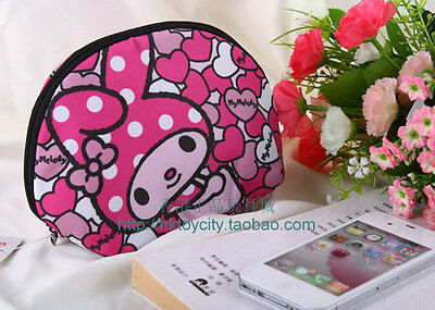 Sanrio My Melody Pink Space Cotton Light Weight Cosmetic Bag/Coin Bag  584675