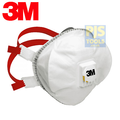 5 x 3m 8835+ P3 dust, mists & metal fumes welders respirator masks valved FFP3