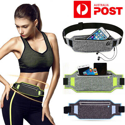 3Color Sports Fanny Belly Waist Bum Bag Fitness Running Jogging Belt Pouch Pack
