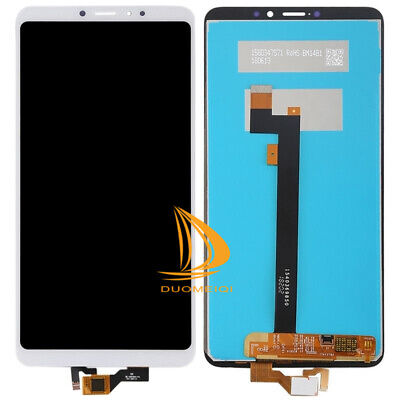 For Xiaomi Mi Max 3 LCD Display Touch Screen Digitizer Assembly White Replaced #
