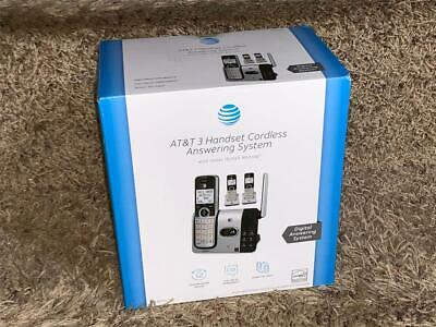 AT&T CL82314 DECT 6.0 Cordless Phone with Answering System w/ 3 Handsets