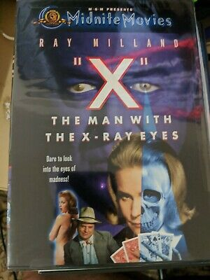 X: The Man With The X-Ray Eyes DVD 1963 Ray Milland NEW SEALED