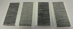 Mahle LAK848/S OE Activated Carbon Pollen / Cabin Filter