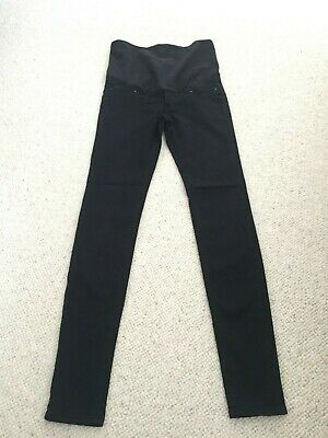 Black Maternity Trousers / Jeans - Size 6 - Over the Bump