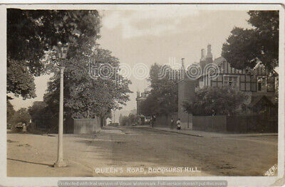 BUCKHURST HILL nr Loughton Epping Woodford Green & Chingfiord - Queens Road