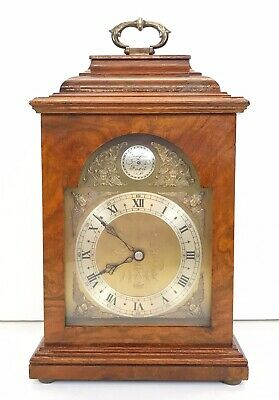 Elliott Burl Walnut Bracket Clock