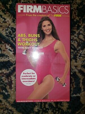 Firm Basics:Abs,Buns & Thighs Workout [VHS] Brand New in Shrink Wrap