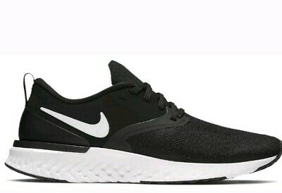 Men's Nike Odyssey React Flyknit 2 Running Shoes Black/White AH1015 010