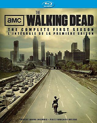 Walking Dead: The Complete First Season 1 (Blu-ray Disc, 2011) *Brand New*