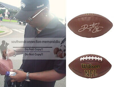 SF 49ers RICKY WATTERS Eagles Seahawks ND SIGNED Autographed NFL FOOTBALL Proof