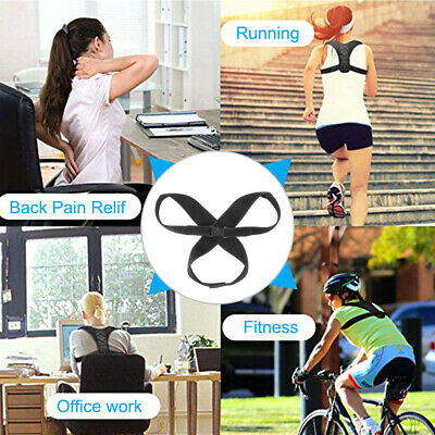 Posture Correct Clavicle Support Corrector Back Straight Shoulders Brace Strap