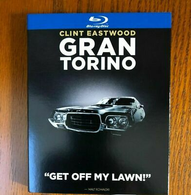 Gran Torino Blu-Ray Slipcover Only (No Movie) Free Shipping! Clint Eastwood