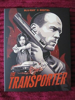 The Transporter Blu-Ray Slipcover Only (No Movie) Free Shipping! - Rare Oop Htf