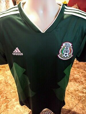 78c7ff568 ADIDAS MEXICO AUTHENTIC 2019 Gold Cup Soccer Football Jersey ...