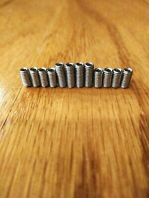 M3 x 6mm /& 8mm Stainless Steel Saddle Height Screws for Fender MIM Stratocaster