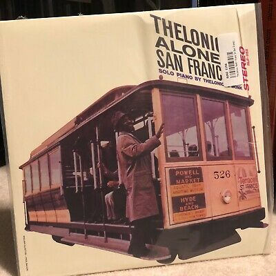 Thelonious Monk Trio Thelonious Alone In San Francisco 45RPM Numbered Edition LP