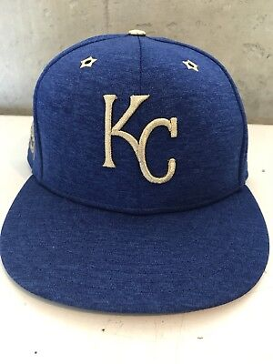 online retailer b96bf 5cfb9 Kansas City Royals New Era 2017 MLB All-Star Game Side Patch Fitted Hat 7