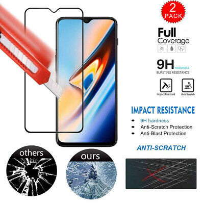 6D Full Tempered Glass Protective Screen Protector Cover For OnePlus 7 Pro 7 6T