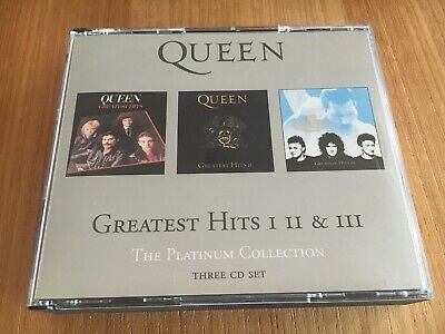 QUEEN Platinum Collection, The - Greatest Hits Volume 1, 2 & 3 CD Fatbox.