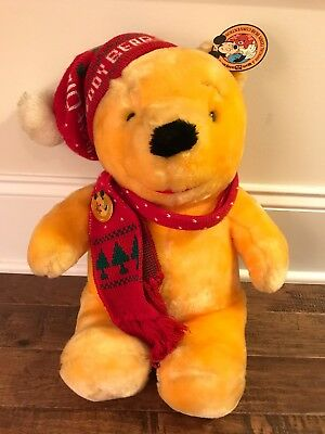 "1988 ""1ST ANNUAL TEDDY BEAR CONVENTION"" (Winnie The Pooh) Plush, With PIN & TAG!"