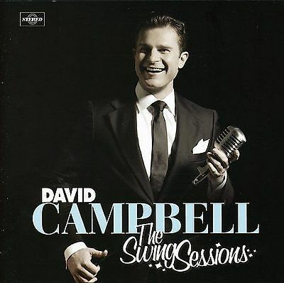 David Campbell The Swing Sessions CD Album in Very Good