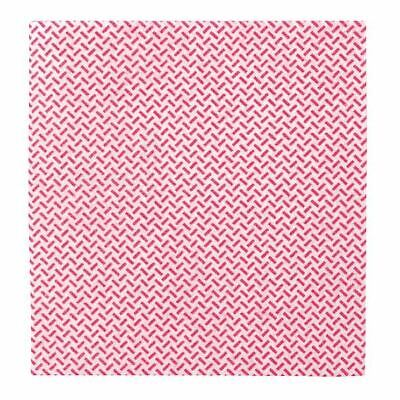 2Work Med Weight Cloth 38x40cm Red (Pack of 5) CCRM4005I