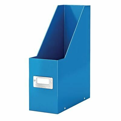 Leitz WOW Click and Store Magazine File Blue Ref 60470036