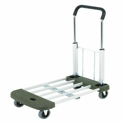 Extendable and Folding Trolley Blue 315167, L760 x W440 x H870mm [SBY07873]