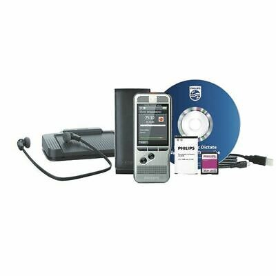 Philips DPM 6700 Flash card Silver dictaphone DPM6700