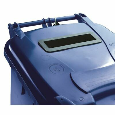 Fsmisc 360L Locked Blue Wheelie Bin 377893893