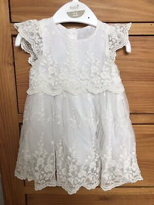 Baby Girl Wedding Christening Outfit Dress Cardigan Cath Kidston Shoes 3-6 Month
