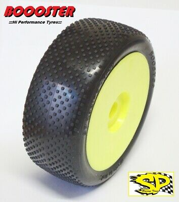 Gomme Tire 1/8 BUGGY SP RACING BOOSTER COMPETION A incollate SP09120 (1cp)