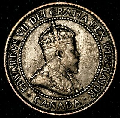 1902 Canada one large cent, Higher Grade