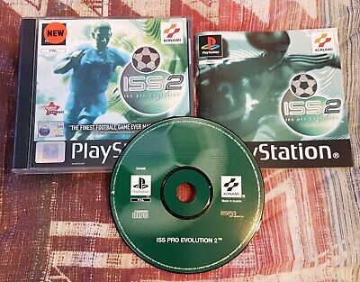 PRO EVOLUTION SOCCER 2 PS1 game Sony Playstation COMPLETE