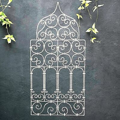 MOROCCAN WINDOW GRILL Wall Stencil for Painting