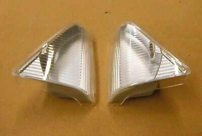 Ford Granada Mk2 Clear front indicator units,one pair,new.