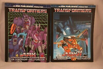 IDW Transformers The Ark Volume 1 and 2 Art Profile Books