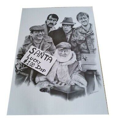 Only Fools and Horses Steve Khamis Print – Lucky Dip – 16×23 Inch