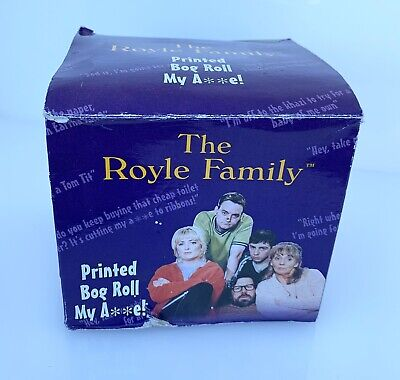 Royle family comedy toilet roll Royals Printed Bog Roll Toilet Paper Tissue Fun