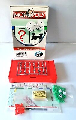 Monopoly Fun Travel Board Game ~ New Sealed Contents