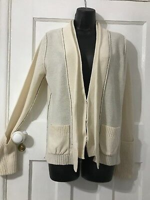 Ladies Cardigan 100% Lambswool From Next Size 12 (25/5)