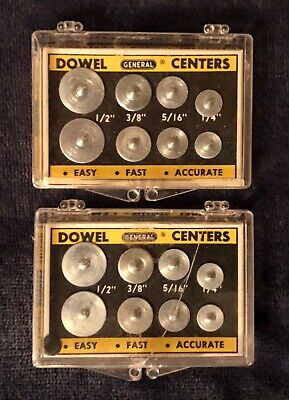 General Hardware Dowell Centers (1/4/-5/16-3/8-1/2) No 888 (Lot of 2)