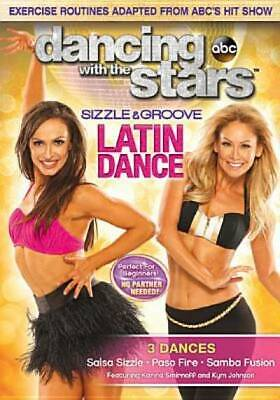 Dancing With The Stars: Sizzle & Groove Latin Dance [DVD]
