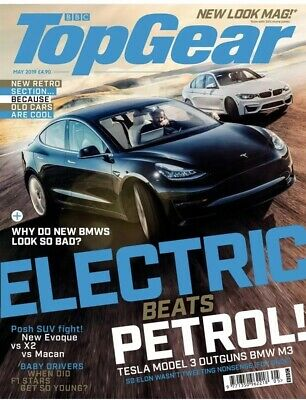 BBC Top Gear Magazine May 2019 (BRAND NEW ISSUE)