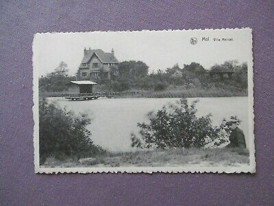Ancienne carte postale    MOL  - Villa  HEIRUST
