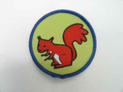 Girlguiding/ Girl Guides Brownies Six Emblem Woven Badge - Squirrel