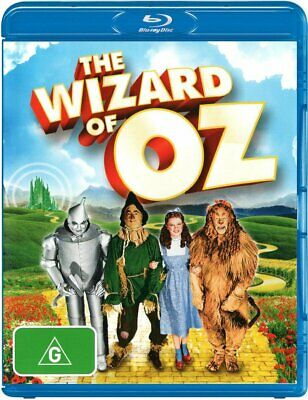 The Wizard Of Oz Blu Ray - New & Sealed 2 Disc, Australian Release